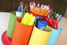 Classroom DIY / DIY projects for the classroom including tips, tricks, decor, and storage ideas.