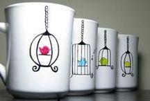 Decos sur tasses et autres