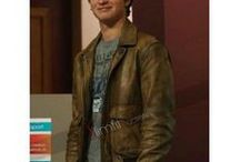 The Fault in our Stars Movie Jacket / Brown bomber jacket from the new movie Fault in our Stars at Slimfitjackets.com