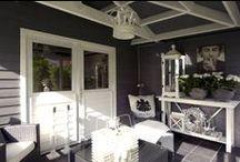 Porches / garden houses / veranda / tuinhuis / I just love these / geweldig, ik wil ze allemaal!!!
