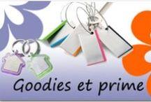 Goodies & Primes / Présentation de la gamme Goodies & Primes Elydis.