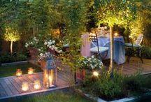 Garten: Beleuchtung / Bis in die Nacht hinein auf der Terrasse oder dem Balkon sitzen und bei stimmungsvoller Beleuchtung die Zeit vergessen...