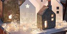 Weihnachten: Adventsdeko / Stimmungsvolle Inspirationen, DIYs und Dekoideen für die Vorweihnachtszeit und die Festtage.