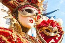 Reisen: Karneval in Venedig / All die Masken und Kostüme vor der sagenhaften Kulisse Venedigs – das ist eine Reise nach Italien wert!