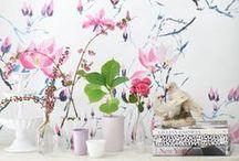 Wohnen: Talentierte Tapeten / Wunderbare Wandung: Fröhliche Tapeten, Wandfarben und DIY-Ideen mit Tapeten verleihen unserem Zuhause ein ganz neues Flair.