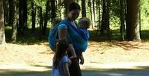 Tandem Babywearing: More than one / Whether you are wearing twins or you need to carry a baby and a toddler, wearing two children takes a special level of skill and attention. Tutorials cannot substitute for expert help and advice, but we've compiled some information and ideas for you here.