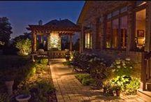 Landscape Design by CB Conlin Landscapes / CB Conlin Landscapes design portfolio Backyard oasis, patio, pool, entertaining, outdoor entertainment, hardscape design