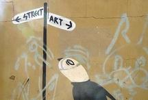 Art 10: Street Art / kunst op straat / by Marcella Roelin