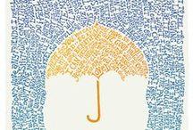 Inspiration 05: Umbrellas / Paraguas / Onder moeders paraplu....  / by Marcella Roelin