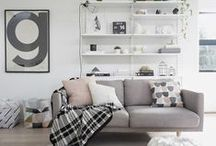 Interiordesing. / Ideas and inspiration for the home.