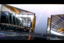tv spot / Simpas lll glass/factory/showroom/design/glass & aluminium constructions