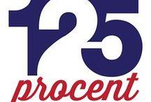 Logo's / Logo's, flyers en posters van evenementen en projecten van van Alan Bredenhorst en/of 125Procent
