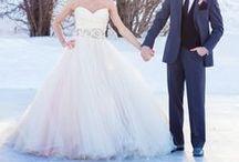 Wedding dresses.