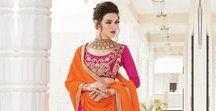 Designer Lehengha Choli & Lehenga Style Sarees Online Shopping / Pavitraa Fashion Offers latest Designer Embroidery Lehenga Choli with 10% discount with free shipping COD.