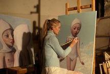 Art 01b: Artists & Ateliers / by Marcella Roelin