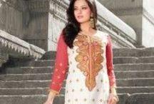 Straight Cut Salwar Kameez Online