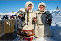 Indigenous Peoples of the North. Russia / In the Russian Federation there are 40 indigenous peoples of North, Siberia and the Far East, with a total population of about 244,000. This includes the Aleutians, Dolgan, Koryak, Mansi, Nanai, Nenets, Saami, Selkup, Khanty, Chukchi, Evenks, Inuits and others. The North is also inhabited by indigenous peoples that are not small-numbered - the Komi and Yakuts, with a population of more than 400,000