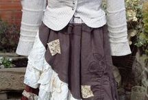 Up cycled clothes by Tilts Tatters / D I Y  Boho, Hippy, Handfasting, Fae, Steampunk.
