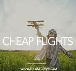 Cheap Flights / Flying as a family can get expensive. Get the best tips on finding cheap flights and the best way to get free flights.
