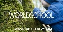 Worldschool Homeschool / My children are all school aged so we will be world schooling them. We follow a Charlotte Mason methodology of education for the most part and just try to do our best each day while introducing our children to the wonders of the world, the classics and the beauty of the Earth!