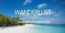 Wanderlust / Satisfy your Wanderlust Here!