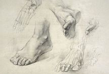 Drawing (Hands and Feet)