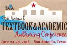 29th Annual Textbook & Academic Authoring Conference / Join us in San Antonio June 24-25, 2016 for our 29th Annual Textbook & Academic Authoring Conference! Learn from industry experts, share ideas and knowledge, gain new perspectives, and get inspired for your writing projects. All conference activities will take place at the beautiful Hotel Contessa, a four-diamond, all-suite hotel on the Riverwalk. It is a conference you won't want to miss!