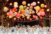 Wedding Reception / Wedding decorations and reception ideas