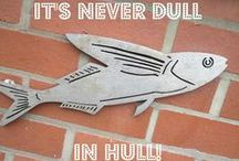 It's never dull in Hull! / Lots of things to see and do in Hull, Yorkshire. UK City of Culture 2017 #hullyes