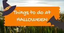 Halloween fun / Halloween themed family and kids days out in the UK