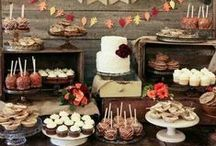 Wedding Dessert Table / Wedding desserts, wedding cakes, wedding food