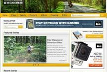 Adventure Bike Websites / A collection of different websites dedicated to Adventure Motorcycles and Adventure Touring.