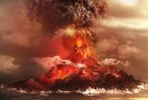 Explosions, Smoke & Erupted
