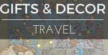 Travel | Gifts & Decor / Looking to get your little globetrotters engaged in travel? Or what about something to remind you about travelling while you're at home? Here are some fabulous gift ideas for the journey ahead
