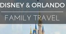 Family Travel | Disney & Orlando / What's a kids travel bucket list without Disney World & Orlando? So big and so many travel tips it needs a board of its own. It's a mission to organise and keep your sanity but worth every minute of it - just plan, plan, plan then let the magic happen
