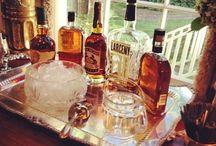 Whiskey tray