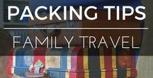 Family Travel | Packing Advice / What and how to pack are some of the biggest questions parents have when they start travelling as a family. Here is a great collection of packing tips, lists and tricks to take some of the stress from the packing process | BabyGlobetrotters.Net