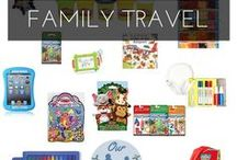 Family Travel | Busy-bags, Activities & Snacks / How to keep your little ones busy and fed in the air, on the road, riding the rails - or anywhere you need them still and occupied!