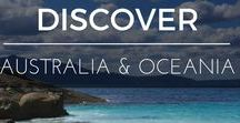 Discover | Australia / I still call Australia Home.  It's hard to understand how vast and beautiful this country is until you set foot on its shores. Too hard to see it all in one visit unless you have 6 months to spare! Here are some of the mustn't miss highlights