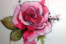 Flores Naturais e Pinturas