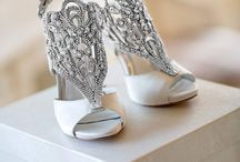 Shoes Fit For A Bride / #Wedding #Shoes #bride / by Me, Myself And Peke