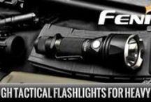 FENIX Flashlights / The flashlights that continues to advance in the illumination technology. There is a flashlight for every situation.