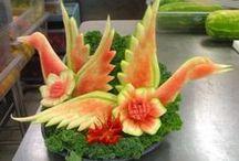 Fruit & Veg sculpture