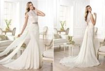 Pronovias Luxury Wedding Dresses / In this album you see Luxury and expensive wedding dress from one of the famous brands, Pronovias 2014. Tags: wedding dress, bridal celebration, bride and groom, gorgeous long dress, Pronovias, Spain, Design
