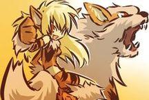 Gijinka and anthro