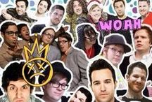 Fall Out Boy / My favourite band. Four nerd from Illinois. The emo king, a Jedi master, a musical genius and a loveable idiot.