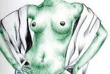 ILUSTRACIONES ANALOGAS / Portafolio personal de ilustraciones