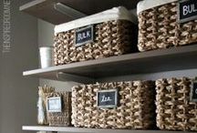 The Organized Pantry / Get your #pantry in order with this round of DIY storage and organization solutions @closets.com!
