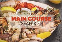Main Course {seafood} / A collection of delicious and healthy Paleo seafood dinner recipe ideas! / by PaleoHacks