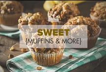 Sweet {Muffins & More} / Satisfy your sweet tooth with these Paleo-friendly dessert recipes: Paleo fudge, muffins, bliss balls, peanut butter cups and many other delicious favorites! / by PaleoHacks